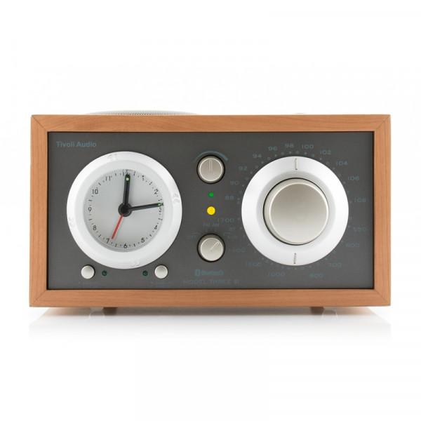 Tivoli Audio Model Three BT Grau/Kirsche