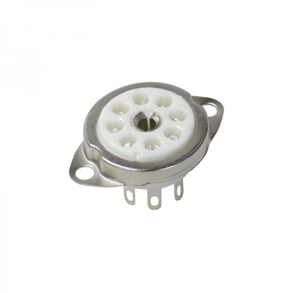 Röhrensockel 8-Pin Rimlock BLANKO