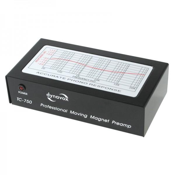 Dynavox TC-750 Profi Phonovorverstärker schwarz