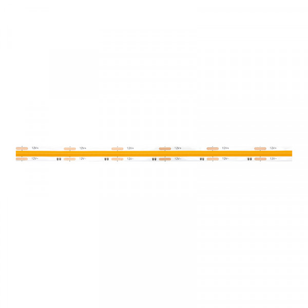 COB LED-Strip, 2400 LEDs, 8 mm Breite (480 LED/m) warmweiss, 5 m BLANKO