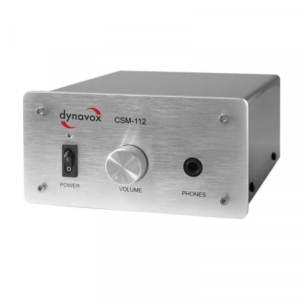 Dynavox Kopfhörerverst. CSM-112 silber