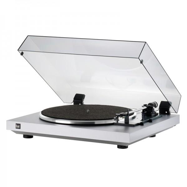 Dual CS 435-1 Schallplattenspieler Silber Made in Germany