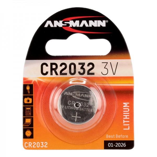 Ansmann Lithium / CR2032 Batterie 1er Blister