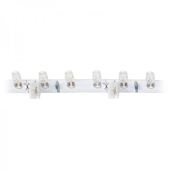 LED-Strip flexibel,18 weisse LEDs BLANKO Länge 30 cm