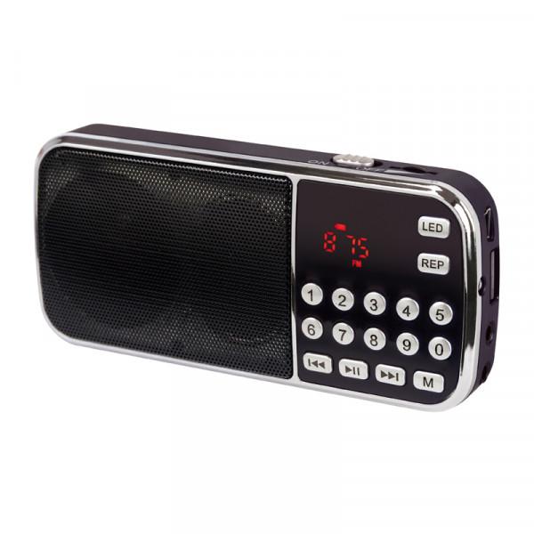 Dynavox FMP3 Bass Boost MP3-Player mit FM-Tuner