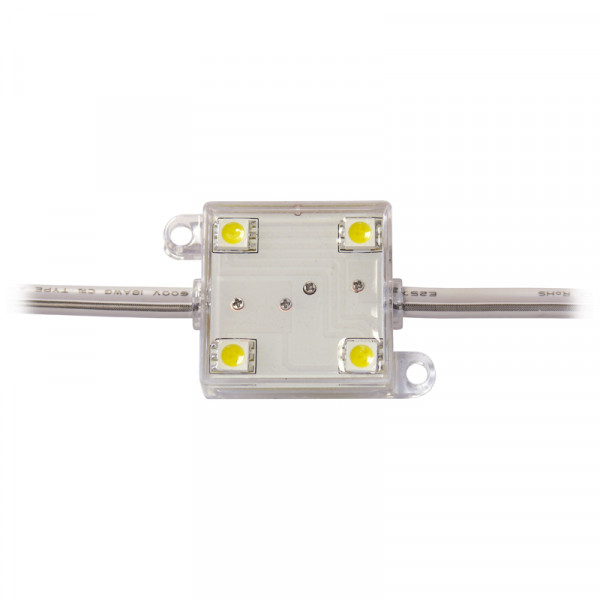 LED Modul 4 x Power SMD LEDs warmweiss