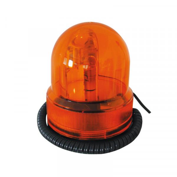 Rundumleuchte 12 V Orange mit Magnetfuß