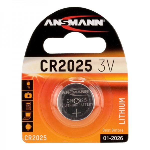 Ansmann Lithium / CR2025 Batterie 1er Blister