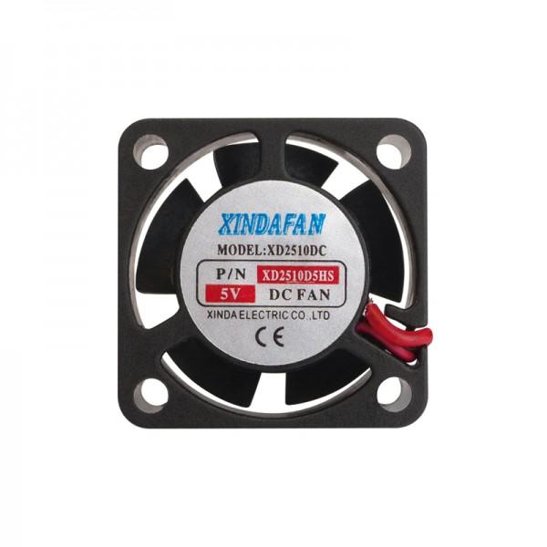 Lüfter Miniatur 5 V/DC 25 x 25 x 10 mm XINDA