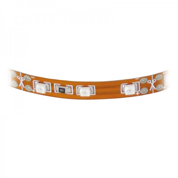 SMD-LED-Strip hochflexibel, 33 LEDs warmweiss 3000 K BLANKO