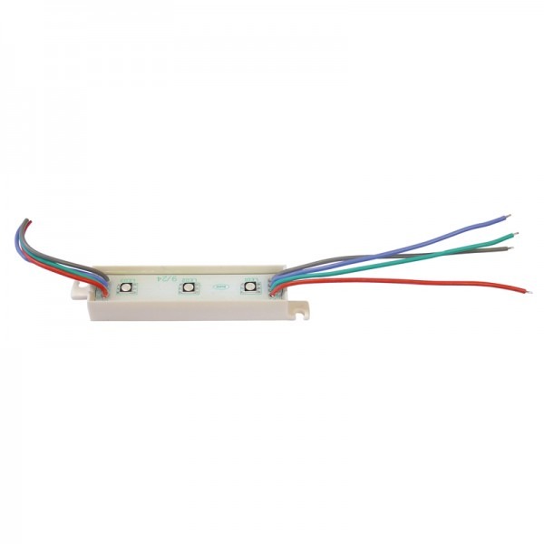 LED Modul RGB 3 x SMD LEDs IP65 BLANKO