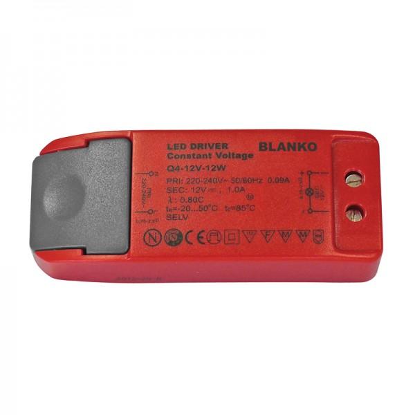 Konstantspannungsnetzteil für LED-Strips 12V / 1.0 A BLANKO