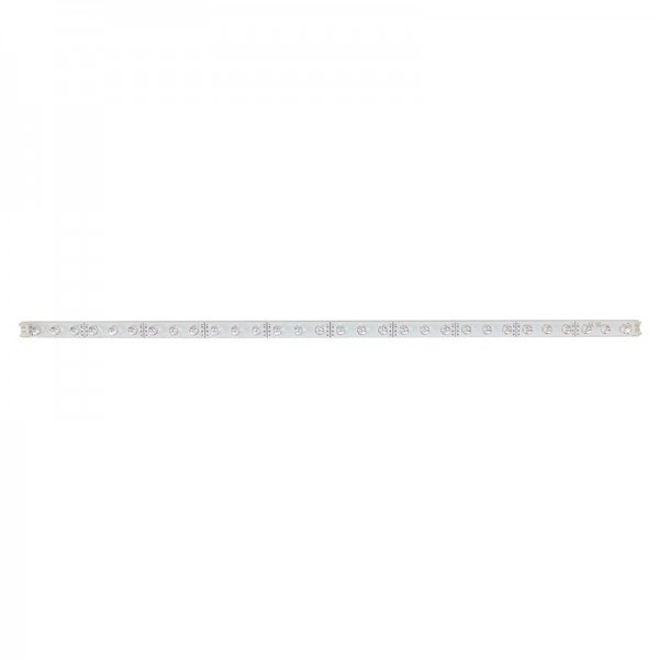 LED-Strip starr, 30 weisse LEDs BLANKO Länge 37,5 cm