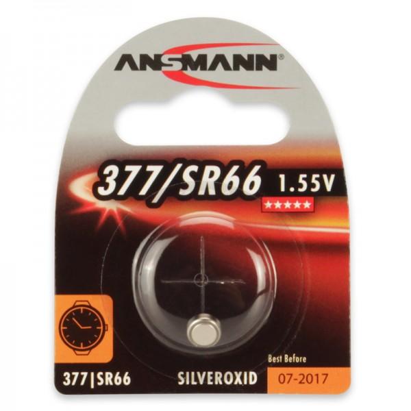 Ansmann Uhrenbatterie /SR66, 1er Blister
