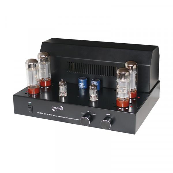 Dynavox Röhrenvollverstärker VR-70E II Phono schwarz