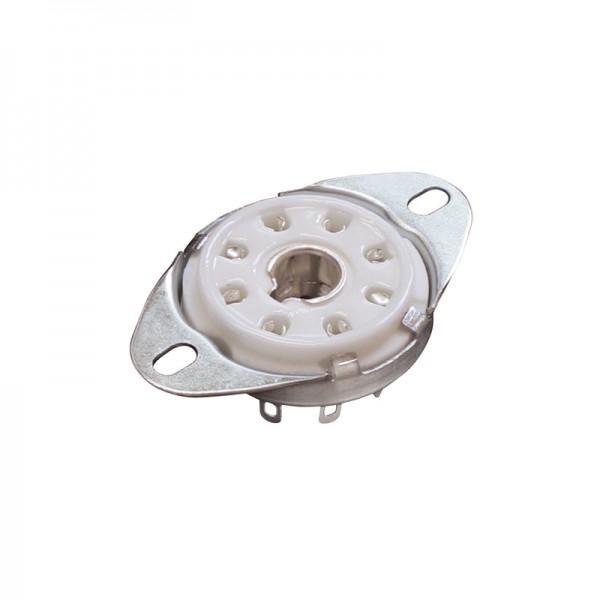 Röhrensockel 8-Pin Octal BLANKO