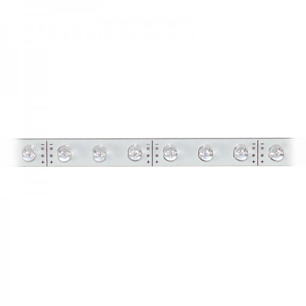 LED-Strip starr, 30 rote LEDs BLANKO Länge 37,5 cm