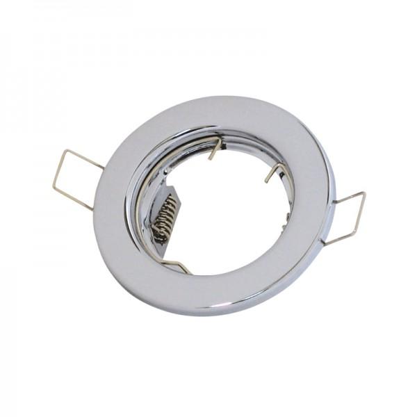 LED-/Halogenfassung MR11 chrom BLANKO