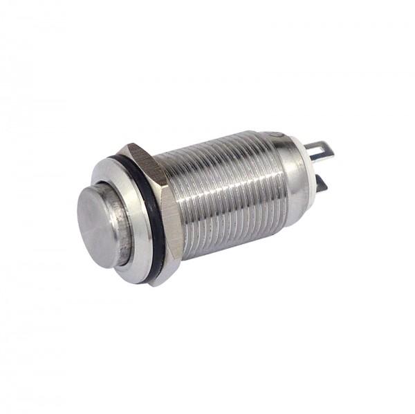 Metallschalter 12 mm 1 x Schliesser BLANKO