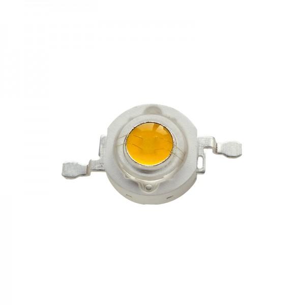 High Power 1W LED warmweiss 5er-Pack BLANKO