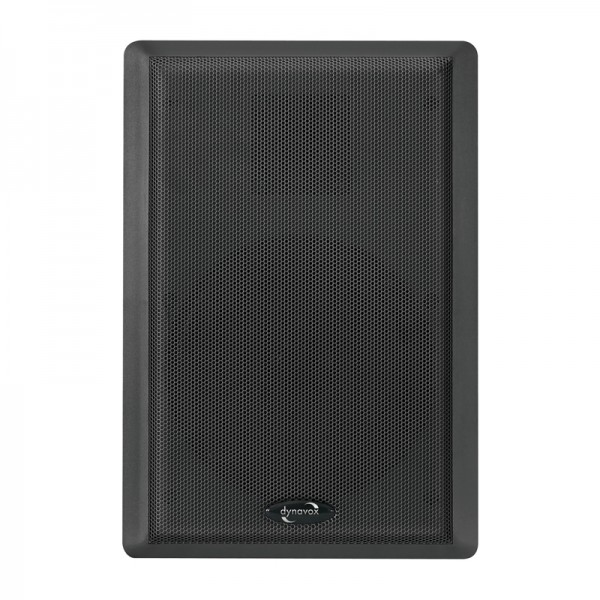 Dynavox WS-502 Flatpanelspeaker schwarz Paar