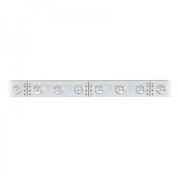LED-Strip starr, 30 gelbe LEDs BLANKO Länge 37,5 cm