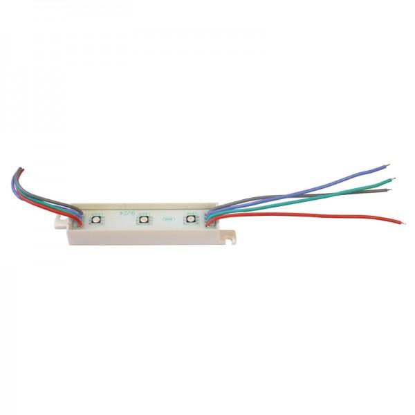 LED Modul RGB 3 x SMD LEDs IP65 wasserdicht, einzeln verpackt BLANKO