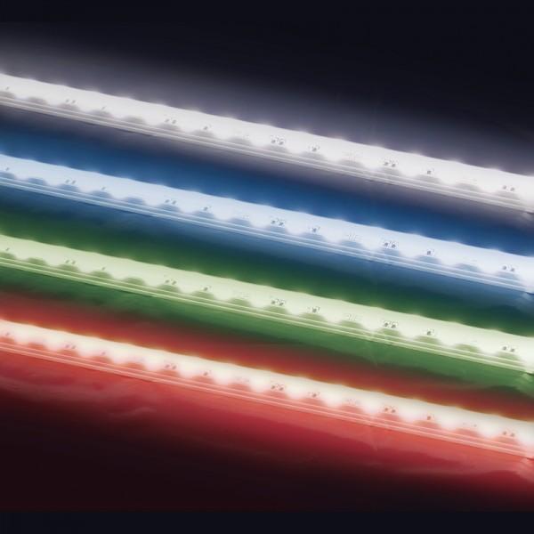 SMD-LED-Strip hochflexibel, 150 LEDs RGB Länge 5 m, weisser Untergrund BLANKO
