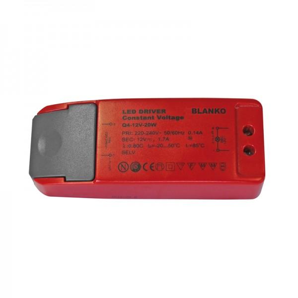 Konstantspannungsnetzteil für LED-Strips 12V / 1.7 A BLANKO