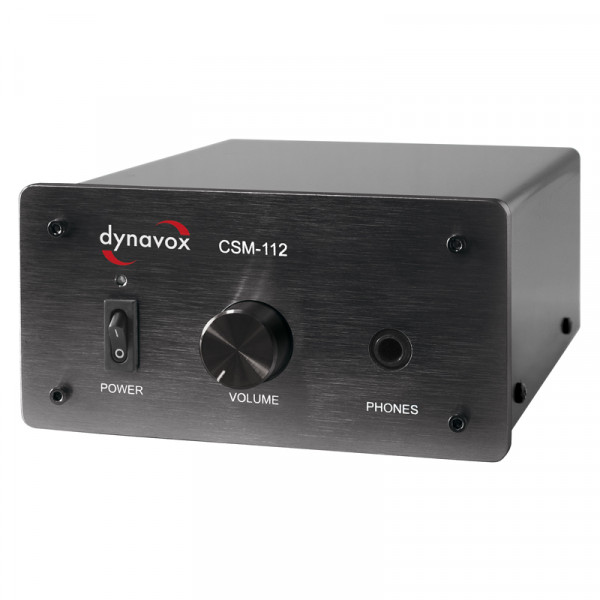 Dynavox Kopfhörerverst. CSM-112 schwarz