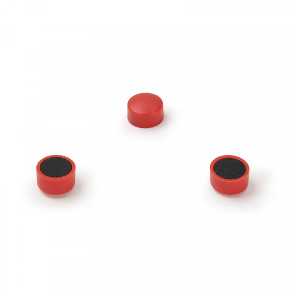 Magnetset 10 mm rot 10 Stück