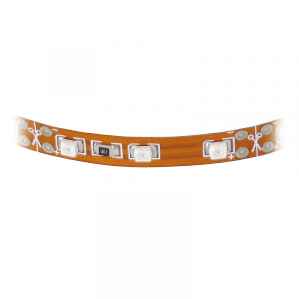 SMD-LED-Strip hochflexibel, 33 gelbe / orange LEDs 50 cm BLANKO