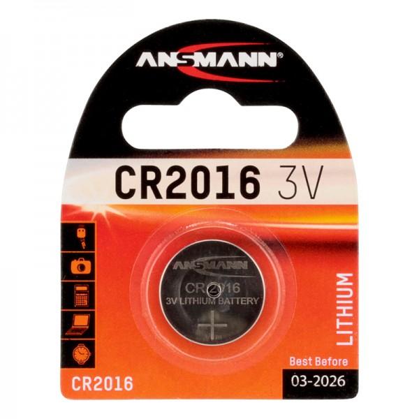 Ansmann Lithium / CR2016 Batterie 1er Blister