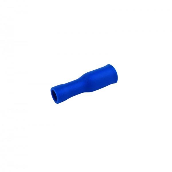Rundsteckhülsen 1.5-2.5mm 50 Stück blau in Plastikbox BLANKO