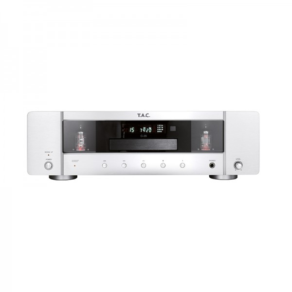 T.A.C. C-35 Tube CD-Player Silver