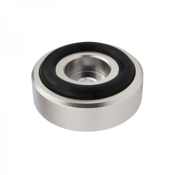 Dynavox Aluminium Gerätefüsse midi silber 4er-Set