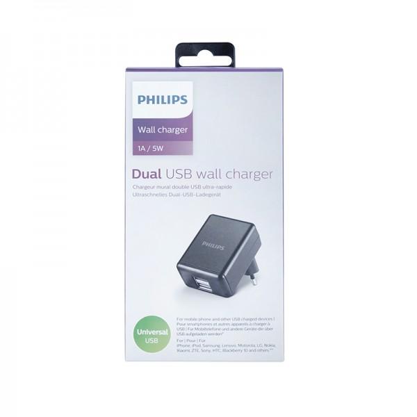 Philips DLP2209 USB Dual-Lader 5V 1A