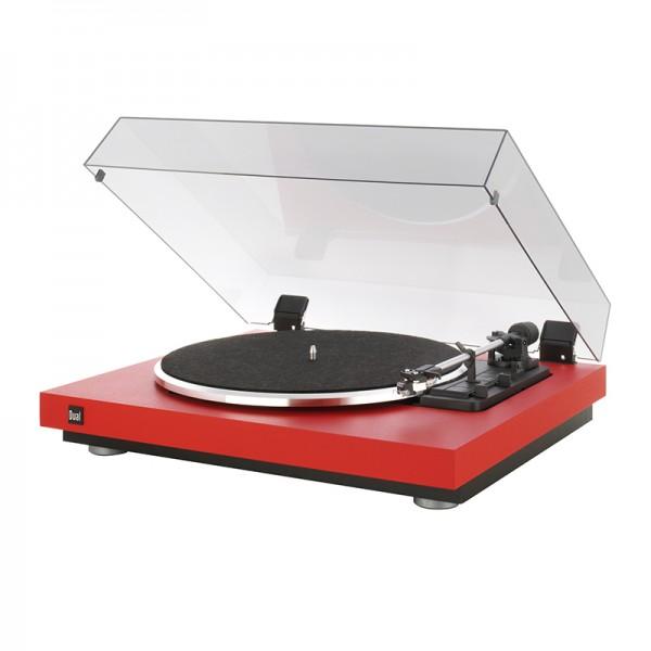 Dual CS 440 Schallplattenspieler Rot Made in Germany