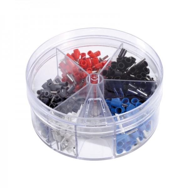 Aderendhülsen-Streudose isoliert BLANKO 0,5 - 2,5 mm2