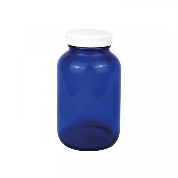 Apothekerflasche Glas 250ml blau
