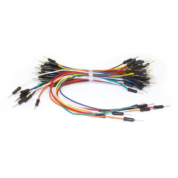 Flexible Verbinder für Laborsteckboards 65-teilig BLANKO