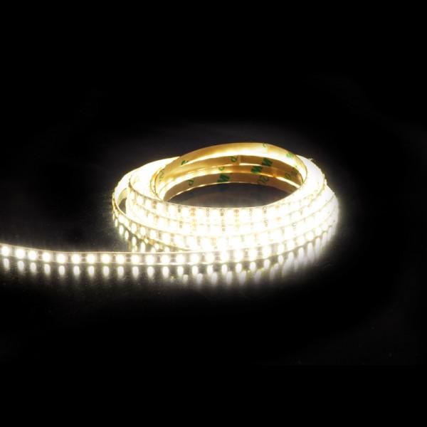 SMD LED-Strip, 594 LEDs, 4 mm Breite (198LED/m) warmweiss, Länge 3m BLANKO