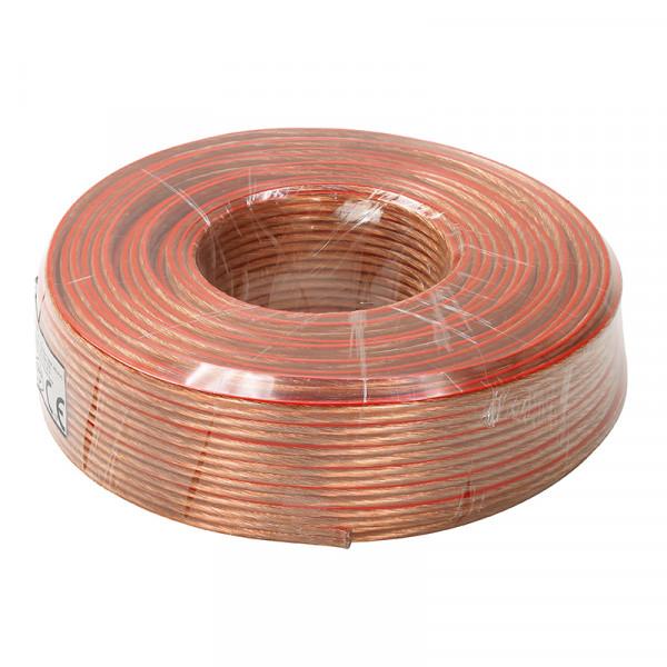 Lautsprecherkabel CCA 50 Meter klar 2 x 2,5 mm²