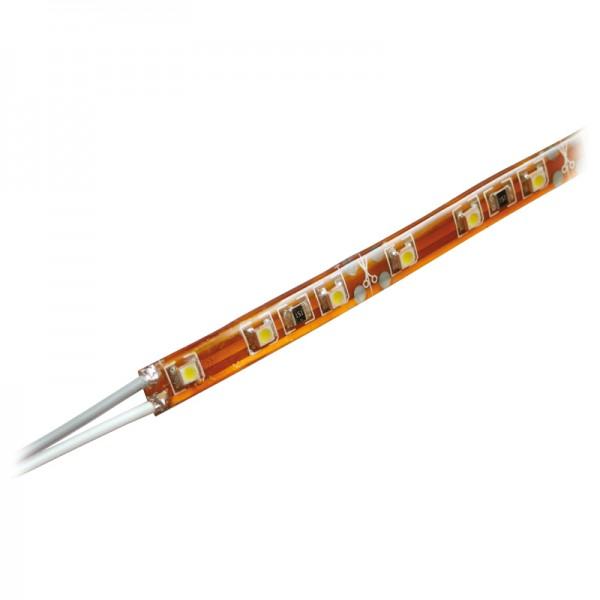 LED-Strip 1 m, 66 rote LEDs BLANKO wasserdicht