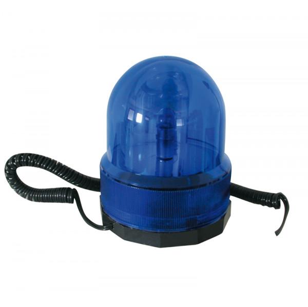 Rundumleuchte 12 V Blau mit Magnetfuß