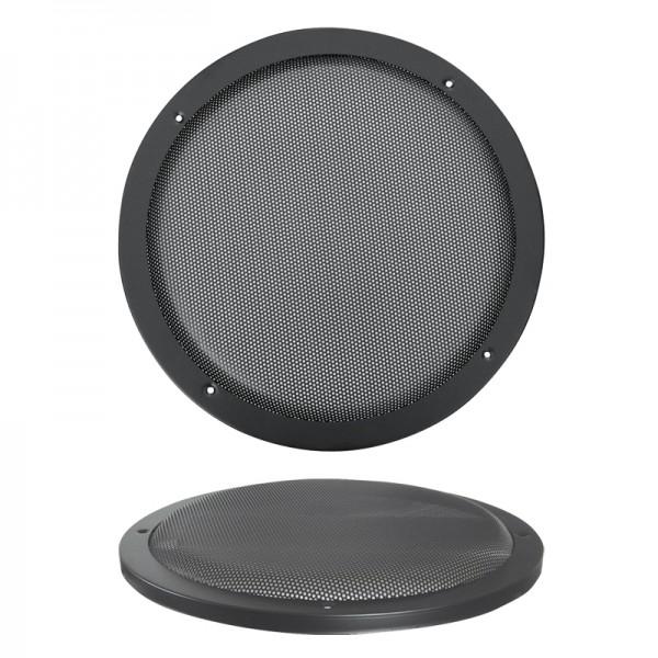 Lautsprecherziergitter HIFI 300mm BLANKO schwarz