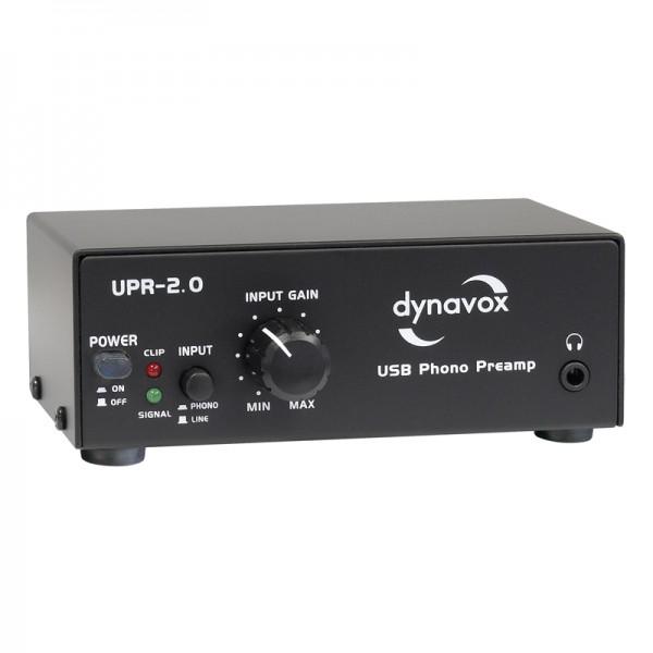 Dynavox USB-Phono-Vorverstärker UPR-2.0 schwarz