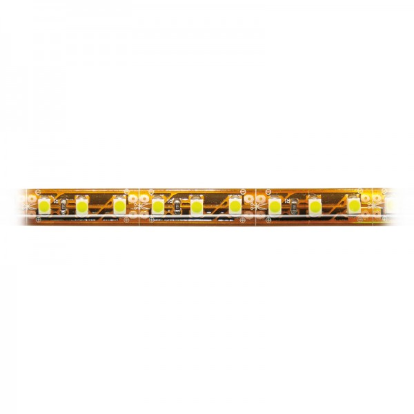 SMD-LED-Strip hochflexibel, 120 LEDs Länge 1 m, IP64, warmweiss BLANKO