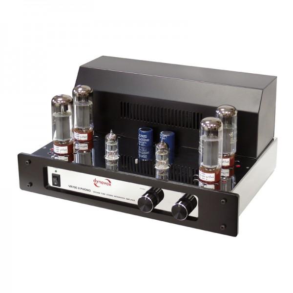 Dynavox Röhrenvollverstärker VR-70E II Phono chrom
