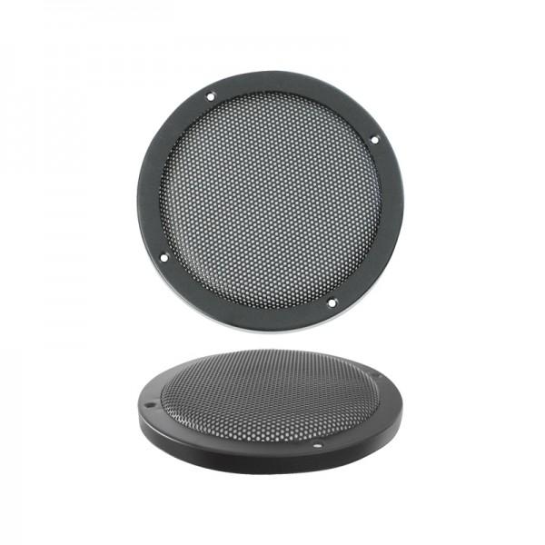 Lautsprecherziergitter HIFI 165mm BLANKO schwarz